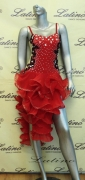 LATIN SALSA COMPETITION DRESS LDW (LT587)