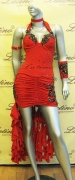 LATIN SALSA COMPETITION DRESS LDW (VL110A)