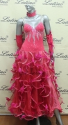 BALLROOM COMPETITION DRESS LDW (ST115)