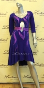 LATIN SALSA COMPETITION DRESS LDW (VL175D)