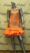 LATIN SALSA COMPETITION DRESS LDW (VL225)