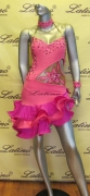 LATIN SALSA COMPETITION DRESS LDW (LT516)