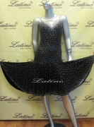 LATIN SALSA COMPETITION DRESS LDW (LT550)