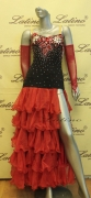 BALLROOM COMPETITION DRESS LDW (ST147)