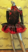 LATIN SALSA COMPETITION DRESS LDW (LT238B)