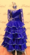 BALLROOM COMPETITION DRESS LDW (ST162)