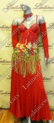 BALLROOM COMPETITION DRESS LDW (ST184)