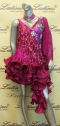 LATIN SALSA COMPETITION DRESS LDW (LT269D)