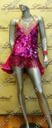 LATIN SALSA COMPETITION DRESS LDW (VL323)