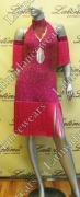 LATIN SALSA COMPETITION DRESS LDW (VL329)
