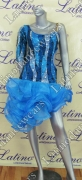 LATIN SALSA COMPETITION DRESS LDW (VL351)