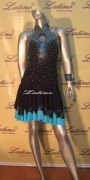 LATIN SALSA COMPETITION DRESS LDW (LT273)