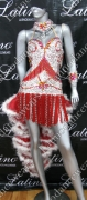 LATIN SALSA COMPETITION DRESS LDW (LS196)