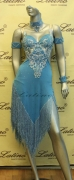 LATIN SALSA COMPETITION DRESS LDW (LT601)