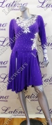 LATIN SALSA COMPETITION DRESS LDW (VL59A)