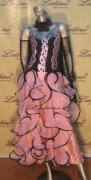 BALLROOM COMPETITION DRESS LDW (ST74)