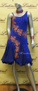 LATIN SALSA COMPETITION DRESS LDW (LT681)