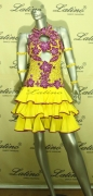 LATIN SALSA COMPETITION DRESS LDW (VL129)