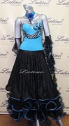 BALLROOM COMPETITION DRESS LDW (ST113)