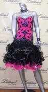 LATIN SALSA COMPETITION DRESS LDW (LT485)