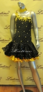 LATIN SALSA COMPETITION DRESS LDW (LT363B)