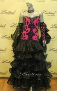 BALLROOM COMPETITION DRESS LDW (ST136)