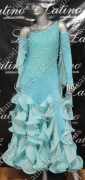BALLROOM COMPETITION DRESS LDW (ST192)