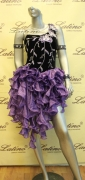 LATIN SALSA COMPETITION DRESS LDW (LT376D)