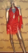 LATIN SALSA COMPETITION DRESS LDW (LT212A)