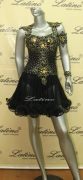 LATIN SALSA COMPETITION DRESS LDW (LT413)
