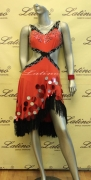 LATIN SALSA COMPETITION DRESS LDW (LT610)