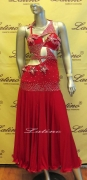 LATIN SALSA COMPETITION DRESS LDW (LT527)