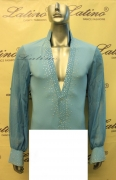 MAN LATIN SALSA SHIRT LDW (B226)