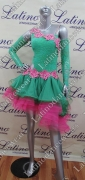 LATIN SALSA COMPETITION DRESS LDW (LT768)