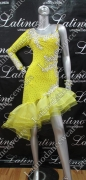 LATIN SALSA COMPETITION DRESS LDW (VL344A)