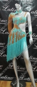 LATIN SALSA COMPETITION DRESS LDW (LT783)
