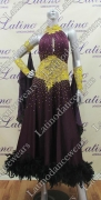 BALLROOM COMPETITION DRESS LDW (ST203)