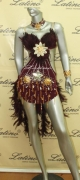 LATIN SALSA COMPETITION DRESS LDW (LS1) only on sale on latinodancewears.com