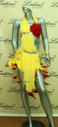 LATIN SALSA COMPETITION DRESS LDW (LS3) only on sale on latinodancewears.com