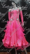 BALLROOM COMPETITION DRESS LDW (ST212)