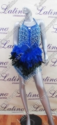 LATIN SALSA COMPETITION DRESS LDW (VL385)