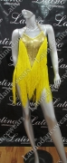 LATIN SALSA COMPETITION DRESS LDW (VL390)