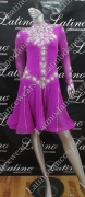LATIN SALSA COMPETITION DRESS LDW (VL394)