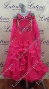 BALLROOM COMPETITION DRESS LDW (ST216)