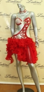 LATIN SALSA COMPETITION DRESS LDW (LS2) only on sale on latinodancewears.com