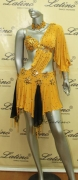 LATIN SALSA COMPETITION DRESS LDW (LS4) only on sale on latinodancewears.com