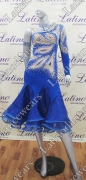 LATIN SALSA COMPETITION DRESS LDW (VL406)