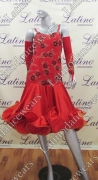 LATIN SALSA COMPETITION DRESS LDW (VL404)