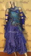 BALLROOM COMPETITION DRESS LDW (SB001) only on sale on latinodancewears.com
