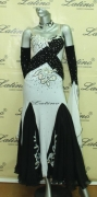 BALLROOM COMPETITION DRESS LDW (SS1) only on sale on latinodancewears.com